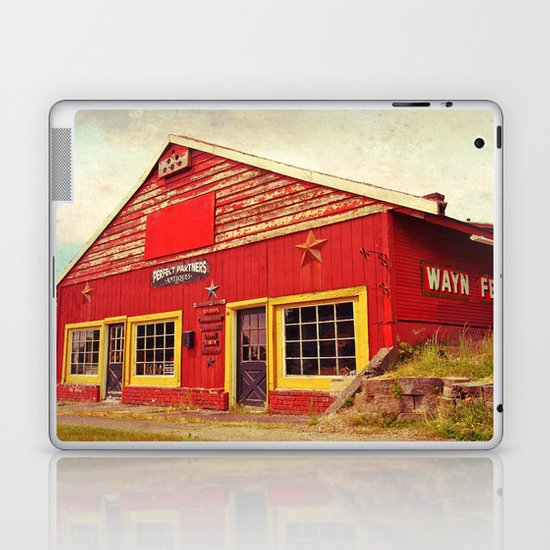 Wayne Feeds Laptop & iPad Skin