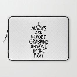 Always ask Laptop Sleeve