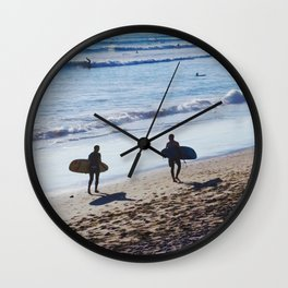 The Buddy System Wall Clock