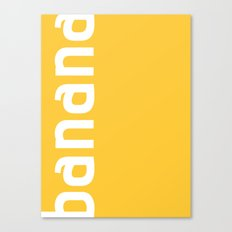 Colors - Banana Canvas Print