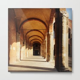 Basilica.  Milan. Metal Print