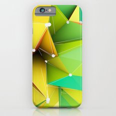 Polygons green Abstract Slim Case iPhone 6s