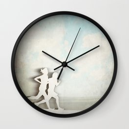 Runners Wall Clock
