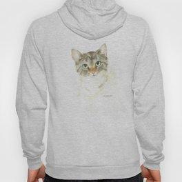 catitude - brown tabby cat Hoody