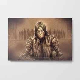 Daryl Dixon Metal Print