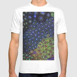 "Macro of Coral Zoanthus ""Blue Hornet"" T-shirt"