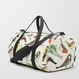 Garden Birds in the Daytime Duffle Bag