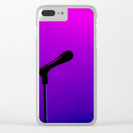Neo Glow Mic Clear iPhone Case