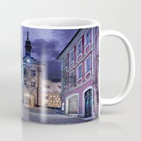 gotham Mugs featuring Gotham by Robin Curtiss