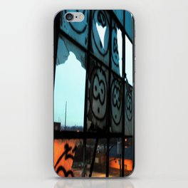 The beasts face  iPhone Skin