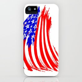 USA Sketched Flag iPhone Case