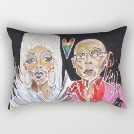 RuPaul Rectangular Pillow