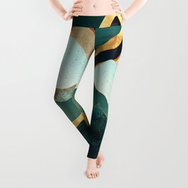 Velvet Copper Mountains Leggings