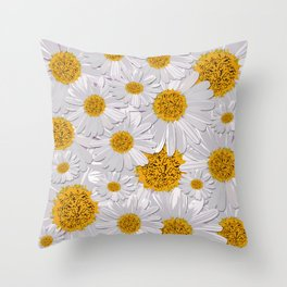 Daisy Love Throw Pillow