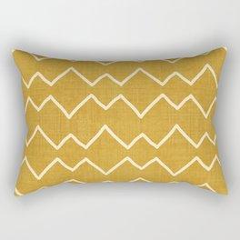 Urbana in Gold Rectangular Pillow
