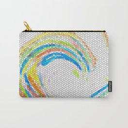Design 35 mosaic look Carry-All Pouch