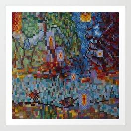 Riverscape Art Print