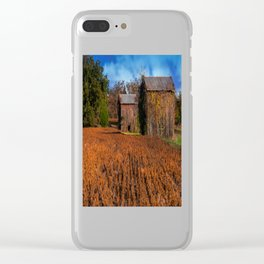 Change of Time Clear iPhone Case