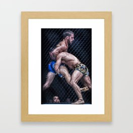 This is MMA. Framed Art Print