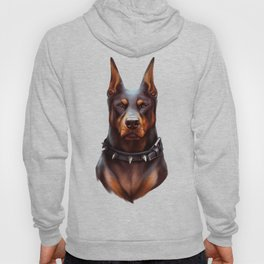 Doberman Dog Hoody
