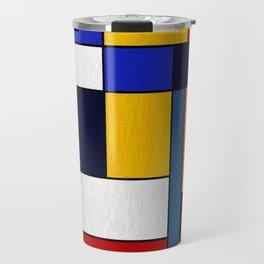 Abstract #351 Travel Mug