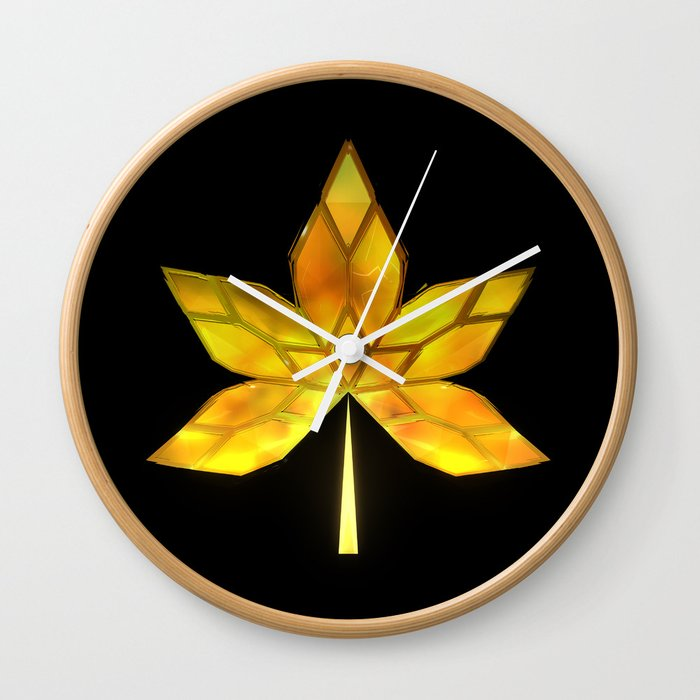 Autumn Leaves: Frame 070 Wall Clock