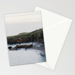 a quiet day in the bay Stationery Cards