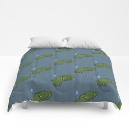 Cuttlefish - Cthulu Edition Comforters