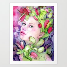 Under the Gaze of Venus Art Print