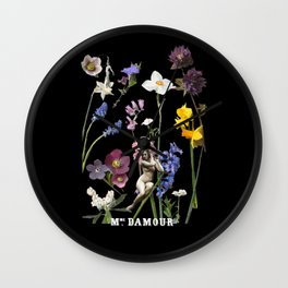 Wildflower Dream Wall Clock