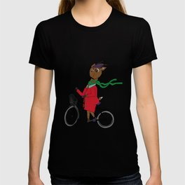 Diego the Deer Rides his Bicycle T-shirt