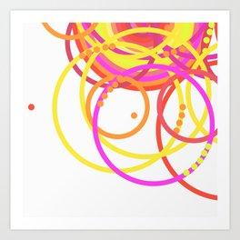 ondas + Art Print
