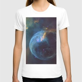 Bubble Nebula Astronomy T-shirt