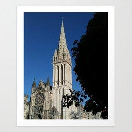 Saint Etienne Cathedral Art Print