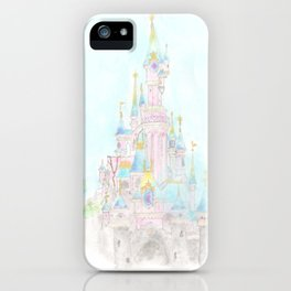 Castle of Sleeping beauty iPhone Case