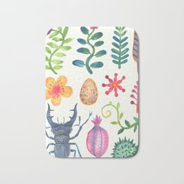 Along the Forest Road Bath Mat