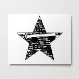 Bowie 2019-1 Metal Print