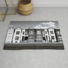 Row houses, Florida Ave Rug