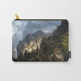 Hermann Herzog Storm in the Mountains Carry-All Pouch