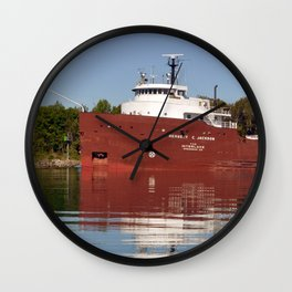 Herbert C Jackson Wall Clock