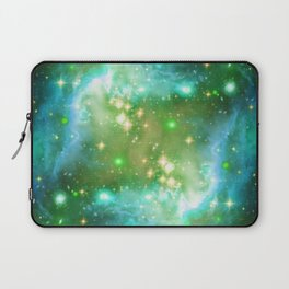 Tiny Lens Textured Nebula Laptop Sleeve
