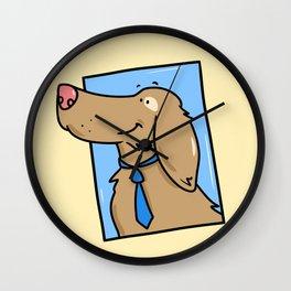 Mutt Wall Clock