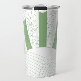 Green Fennel Travel Mug