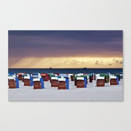A STORM IS COMING - BALTIC SEA Canvas Print