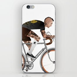 Bike Driver iPhone Skin
