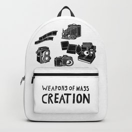 Weapons Of Mass Creation - Photography (clean) Backpack