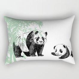 Panda print Rectangular Pillow