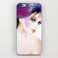 naked iPhone & iPod Skins featuring naked by tatiana-teni