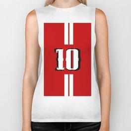 Ten jersey number Biker Tank
