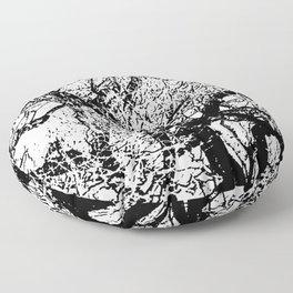 Winter in Quebec Floor Pillow